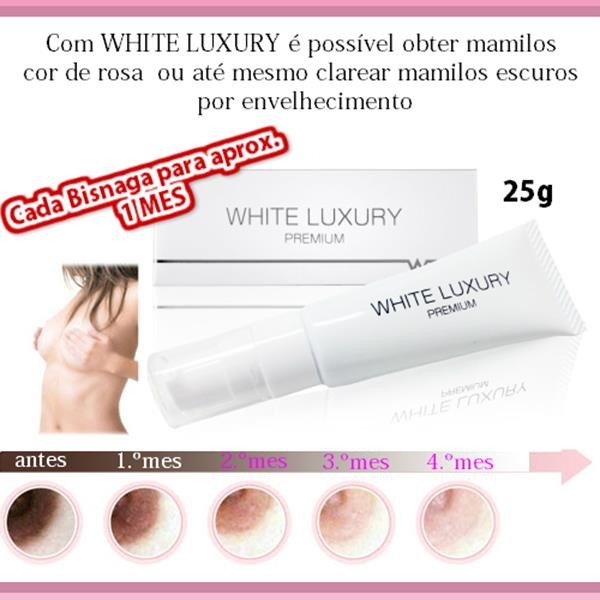 imagem Creme Clareador de Mamilos White Luxury - 20g