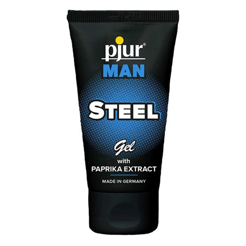 imagem Gel Estimulante Masculino Pjur Man Steel 50 ml.  SP-0403